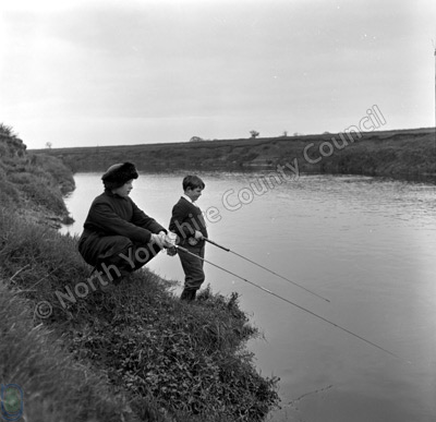 Fishing, River Swale, Skipton-on-Swale
